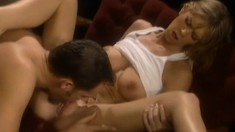 Little Brooke Banner trades head before she gets drilled by his wand