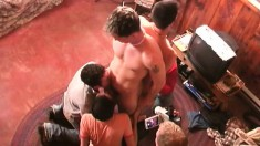Young and horny frat boys getting their asses pounded deep and hard