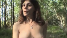 Busty Whore Jean Takes A Deep Penetration From Behind In The Outdoors