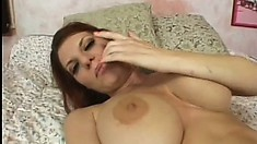 Sexy mature woman Kayla Quinn has her anus fucked really hard today