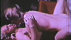 Black dude watches two white gay dudes get it on in a classic film