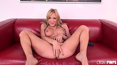 Amy Brooke shows everything from her naughty fuckholes to her feet