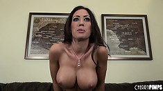 Attractive and talented busty woman Capri Cavanni wants a little attention