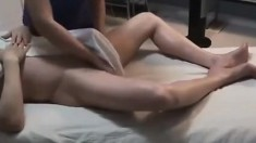 Lesbian Fingering During Her Massage Of A Hot Model Hd