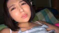 Sexy Big Titted Asian Takes On A Cock Pov