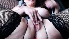 Solo Amateur masturbation
