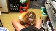 Blowjob blonde amateur handjob reality