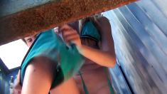 Outdoor Pov Fucking For Eurotrash On Beach In Public