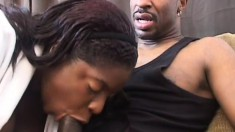 Chyna White trims her bush before some nasty sex in a lot of positions